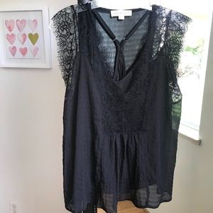 Lace Blouse With Camisole